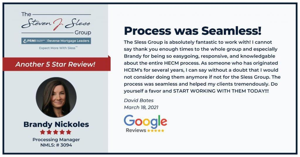 Brandy -Process was Seamless Review