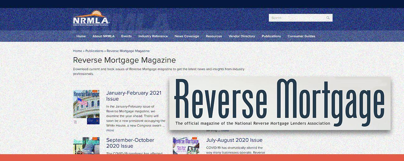 NRMLA Reverse Mortgage Magazine Hero